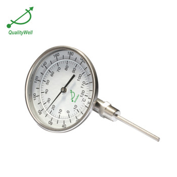 bottom connection bimetal thermometer I series I500C