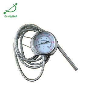 63mm bottom connection remote reading thermometer 221RF12122-1