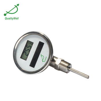 Bottom connection solar digital thermometer DSTI series