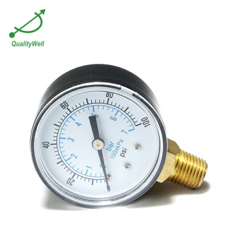 Bottom connection general pressure gauge EPG221V
