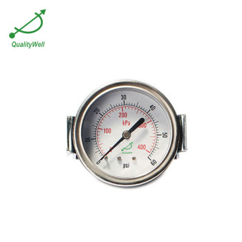 General pressure gauge with U-clamp EPG221H-U