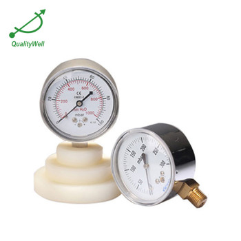 Low pressure gauge with PC lens LPG221V