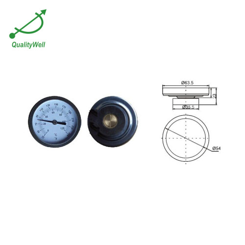 Single magnetic thermometer ST221SM