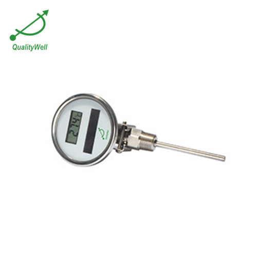 adjustable connection solar digital thermometer DSTA series