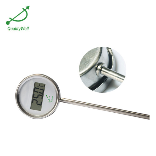 Bottom connection digital thermometer DGTI series