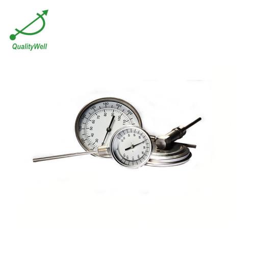bottom connection bimetal thermometer I series I500C