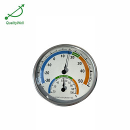 Round indoor thermometer hygrometer with pointer  TH-158
