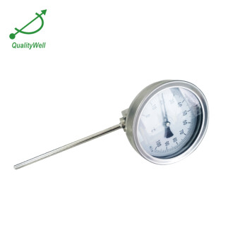 Detachable bezel european type bimetal thermometer AD series