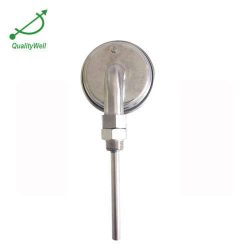 Special bottom connection bimetal thermometer IS300C