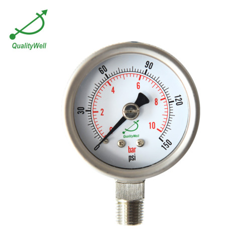 Pressure gauge with explosion-proof plate PG221VAE