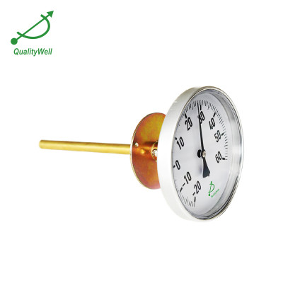 Bimetal thermometer for air-conditioning and refrigeration systems T400AFP