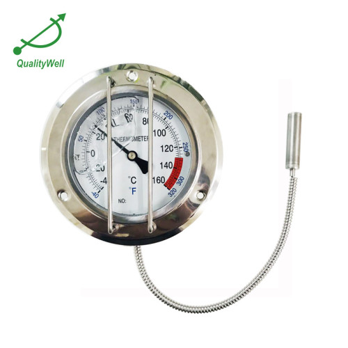 remote reading thermometer with protector and front flange 400RF11022P