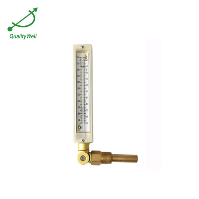 Fully adjustable industrial glass thermometer AG-2