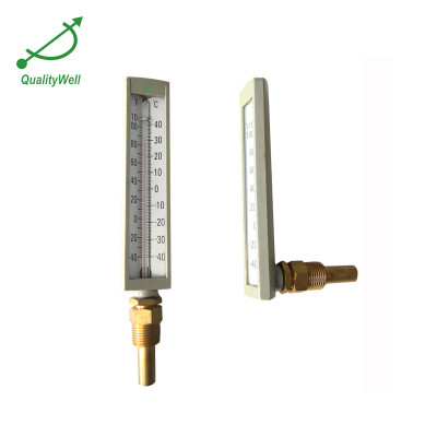 Industrial hot water glass thermometer PHG200 Series