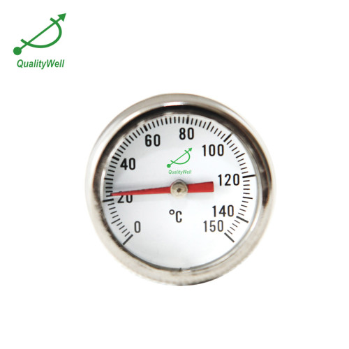 1'' dial thermometer with Rounddiscconn.withgroove PT100GA