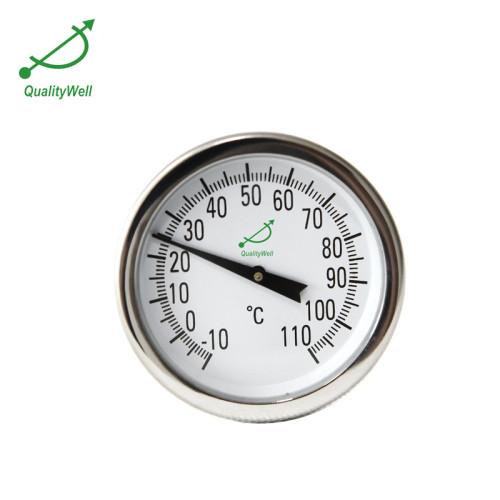 Bimetal thermometer for fermentation PT143GF