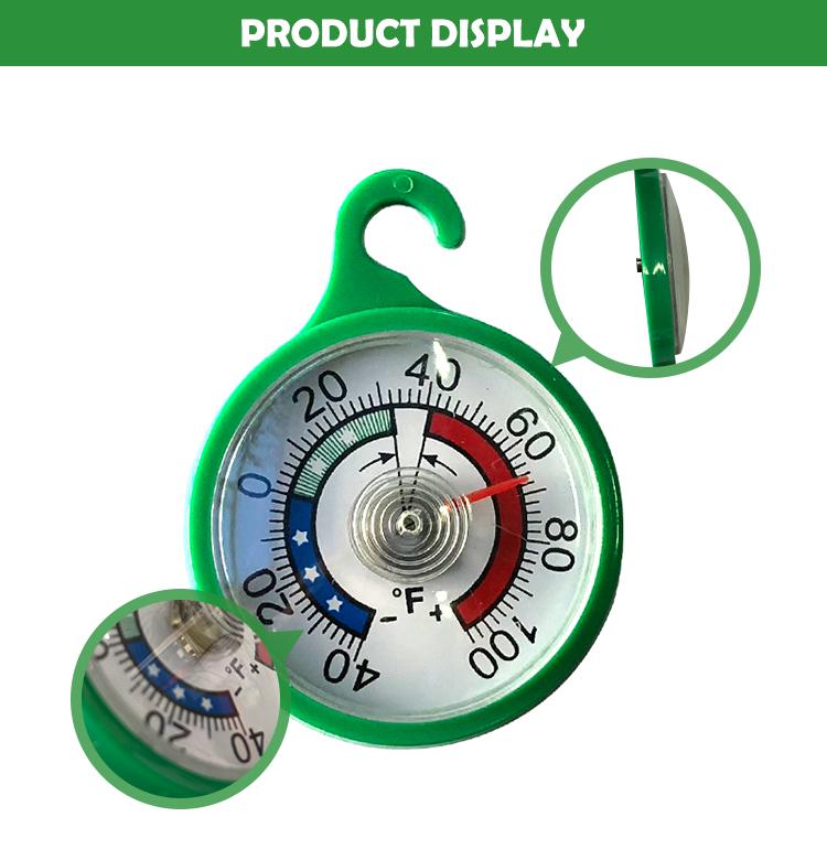 "2""plastic refrigerator thermometer RT200"