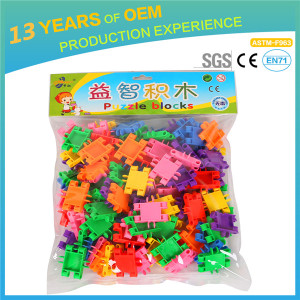 Brand kids plastic build  brick toy, Interesting plastic build block toy with great price