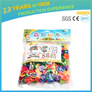 Numbers Stacking Building Blocks, construction blocks toys set 141pcs for kids