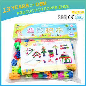 New arrival super quality plastic children toy set, 2.3*2.6cm building blocks for kids MC004-39
