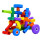 good price and colorful building blocks maker export american plastic toys