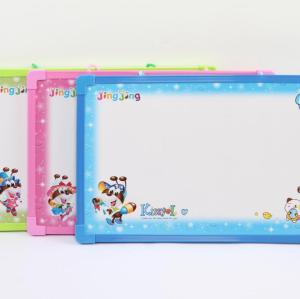 children magnetic white boards with plastic frame for school 20*30