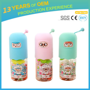DIY slime toys, JingJing non-toxic  safe 12 colors color mud in container