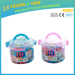colorful flour clay,  kindergarten  kids handmade craft OEM