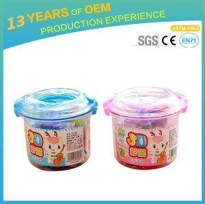2018 new diy nursery school toy, child safe modeling clay