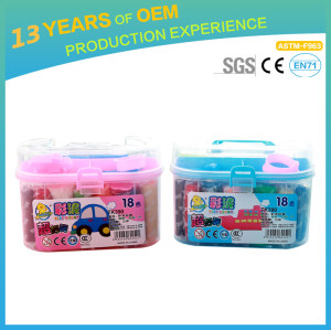 educational modeling clay, Intelligent DIY 3D colorful kids clay