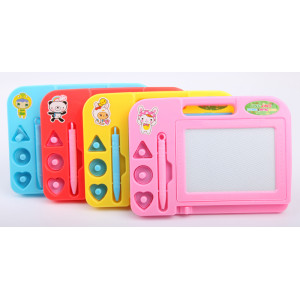 wholesale new design fashion kids magnet drawing board with 4 colors