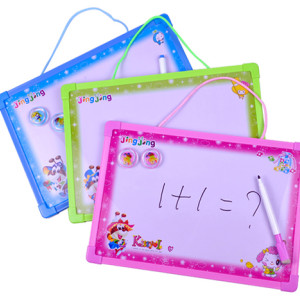 new removable magnetic whiteboard with plastic frame OEM