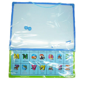 Children Learning portable magnetic white boards toy with lines  for kids