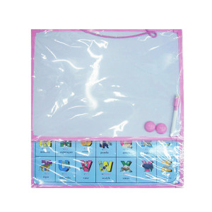 classroom home hanging white boards Set and erasers for kids