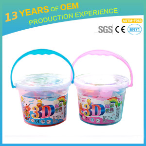 Menzzi wholesale intelligent DIY toy, promotion colour clay