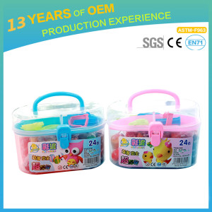 high quality baby safe flour clay factory, soft clay