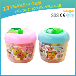 2018 Wholesale OEM baby colorful  modelling clay with 10 colors