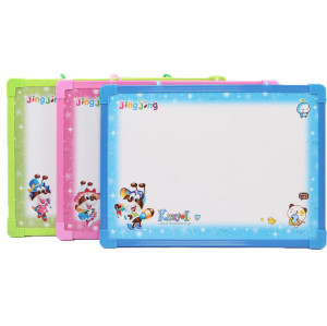 children magnetic white boards with plastic frame for school 20*30cm