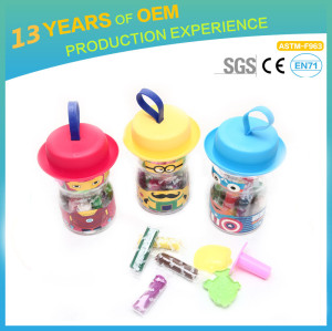 purchasing high quality clay, Colorful play dough, suitcase packaging clay model for children