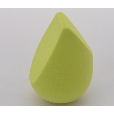 2016 hot sale 3D PU makeup sponge with three cut used with makeup brushes