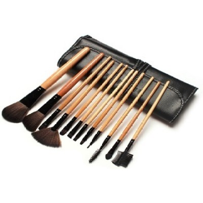 high quality makeup brush set from Dongguan China, makeup brushes of wood handle bamboo handle with private logo oem logo