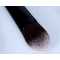 black color high quality 8pcs makeup brush set wood handle OEM service