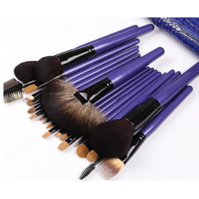 Chengfa Purple 22pcs Natural Hair Professional Makeup Brush