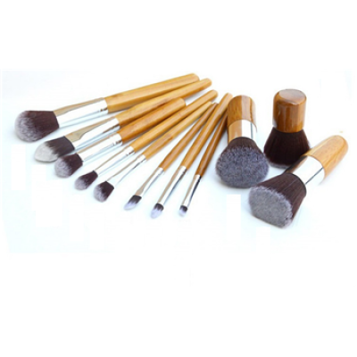 Chengfa 11Pcs Vegan kabuki Make Up Brush Set Cosmetics Maquiagem Makeup Brush