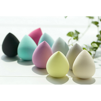 2016 hot sale oval waterdrop calabash cosmetic sponge beauty blender facial puff for make ups