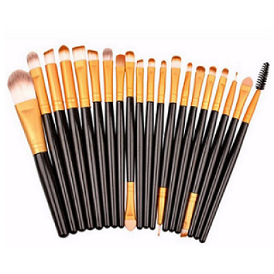 High Quality 20pcs Cosmetic Makeup Brushes Set, Low Price Eyeshadow Brushes