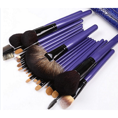 Stock Wholesale Natural Hair Professional Makeup Brush Set