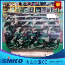 0.13-1.5mm Camouflage Prepainted Galvanized Steel Coil