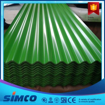 Color PPGI Corrugated Steel Sheets 0.16-6.0MM