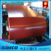 Prepainted Color Coated PPGI Steel Coil Thickness 0.13-1.20MM